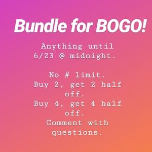 💫BOGO SALE💫 EVERYTHING IN THE SHOP